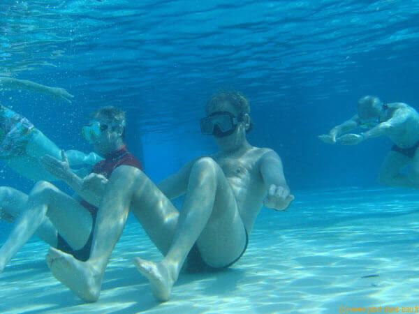 Stages de natations à L'Île Maurice