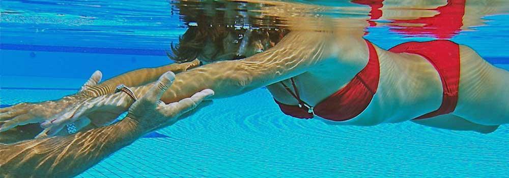 Cours de natation contre l'aquaphobie