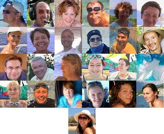 Les co-animatrices et co-animateurs sont d'anciens participants, heureux de partager leur bonheur dans l'eau